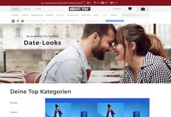 Mode günstig online kaufen und bei About You mit einem Gutschein sparen.