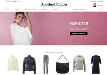 Damenmode bei AppelrathCüpper kaufen und Gutscheincode verwenden.