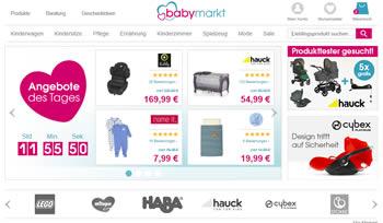 Babyausstattung günstig und schnell mit einem Gutscheincode kaufen.