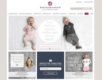Kinder- und Babymode von bellybutton mit einem Gutschein kaufen.