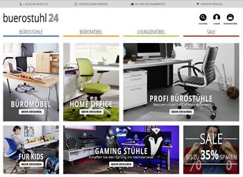 Kaufe mit dem Buerostuhl24 Gutschein Deine Büromöbel jetzt noch günstiger ein.