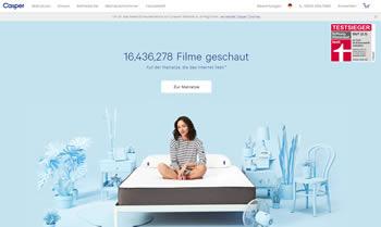 Spare mit dem Casper Gutschein bares Geld beim Matratzenkauf und erlebe erholsamen Schlaf