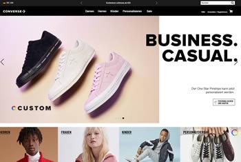 Neue Schuhtrends bekommst Du im offiziellen Converse Shop mit dem Converse Gutschein noch günstiger