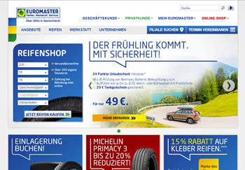 Autoreifen mit Euromaster Gutschein zu Schnäppchenpreisen