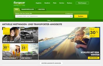 Buche Deinen nächsten Mietwagen mit dem Europcar Gutschein jetzt noch günstiger.