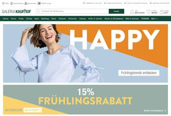 So macht Einkaufen Spaß: Mit dem Galeria Kaufhof Gutschein sparst Du bei Deiner Bestellung