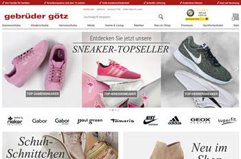 Kaufe mit dem Gebrüder Götz Gutschein Schuhe für die ganze Familie und entdecke beste Qualität.