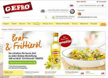 Der Gefro Gutschein bringt neue Würze in Ihre Küche und sorgt für leckere Saucen und Suppen.