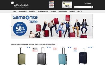 Such Dir einen aktuellen Koffer Direkt Gutschein und spare bei Deiner Bestellung kräftig.