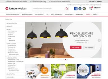 Lampenwelt Gutschein kopieren, einlösen und sparen – so kaufst Du Deine Lampen günstiger.