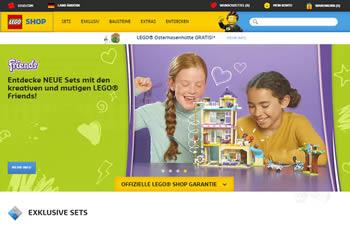 Bestelle mit dem Lego Gutschein bekannte Serien und exklusive Sets zum Schnäppchenpreis.