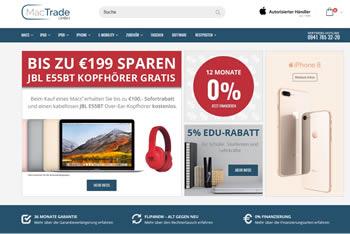 Entdecke günstige Apple Produkte mit Rabatten bei MacTrade