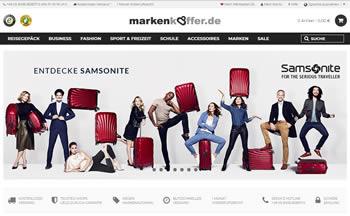 Sicher Dir Reisegepäck bekannter Hersteller mit dem Markenkoffer Gutschein günstiger!