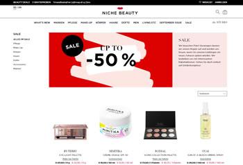 Hol Dir mit dem aktuellen Gutschein hochwertige Kosmetikprodukte bei niche beauty