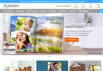 Finde mit dem Pixum Gutschein Deine Foto-Lieblingsprodukte zum günstigen Preis.