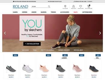Bestelle Deine neuen Schuhe mit dem Roland Gutschein mit attraktiven Vorteilen.