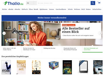 Kaufe Spielwaren, Dekorationsartikel, CDs und Filme günstiger mit dem Thalia Gutschein.