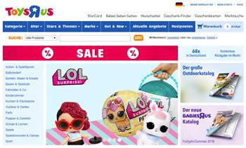 Spare mit dem Toysrus Gutscheincode beim Spielzeugkauf bares Geld.