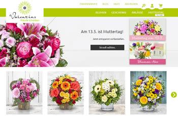 Verschenke exklusive Blumengrüße und ausgesuchte Geschenkideen mit dem Valentins Gutschein