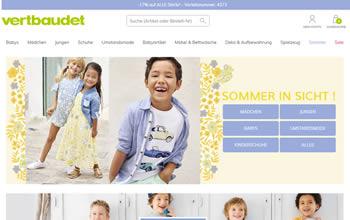 Mit dem vertbaudet Gutschein kaufst Du Baby- und Kinderbekleidung jetzt noch günstiger ein.