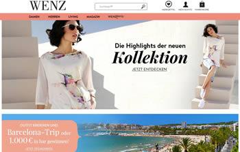 Ausgesuchte Damen- und Herrenmode bekannter Marken bekommst Du mit dem Wenz Gutschein mit tollem Preisvorteil.